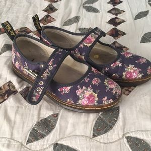 Floral Dr Martens Mary Janes